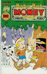 Richie Rich Money World #23 VG; Harvey | low grade comic - save on shipping - de