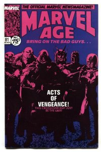 Marvel Age #81 Preview of Acts of Vengeance 1989