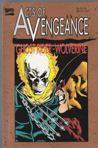 Acts of Vengeance Ghost Rider-Wolverine