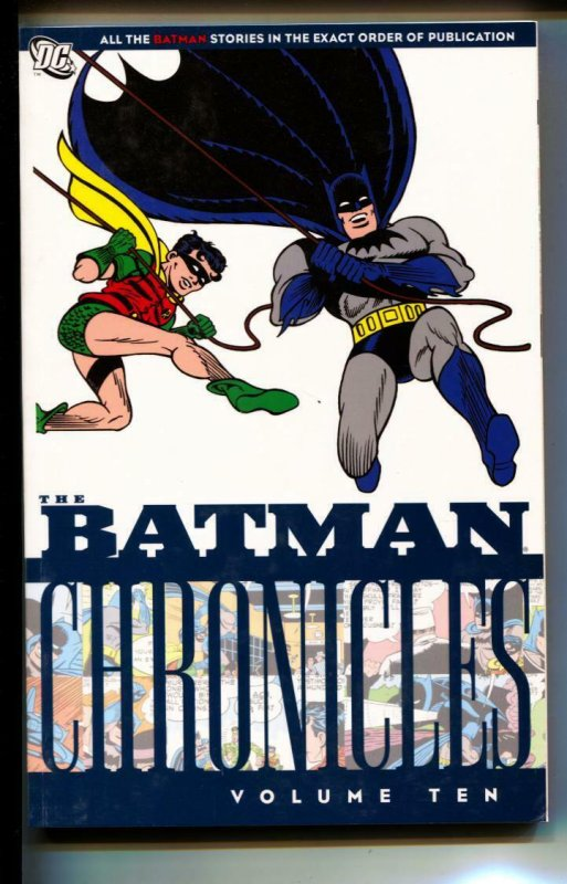 Batman Chronicles Volume 10 TPB trade