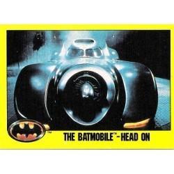 1989 Batman The Movie Series 2 Topps THE BATMOBILE-HEAD ON #170