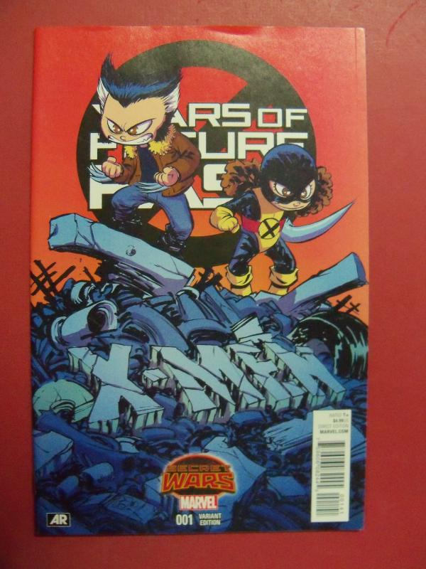 YEARS OF FUTURE PAST, SECRET WARS,  #1,  SKOTTIE YOUNG VARIANT COVER