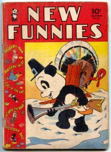 New Funnies #70 1942- Raggedy Ann- Li'l Eight Ball- Golden Age G