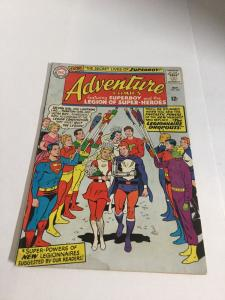 Adventure Comics 337 Gd Good 2.0 Water Damage DC Comics Silver Age