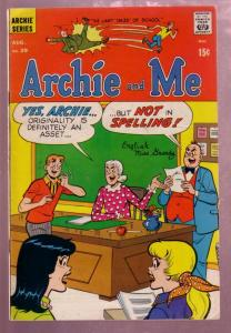 ARCHIE AND ME #29 MISS GRUNDY ISSUE 1969 MR WEATHERBEE FN