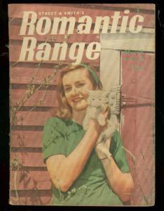 ROMANTIC RANGE MARCH 1946-DIGEST SIZE PULP-PHOTO COVER VG