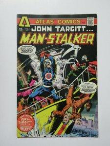 John Targitt Man-Stalker (Atlas Comics 1975) #3 VG Gerry Conway Ric Meyers ++