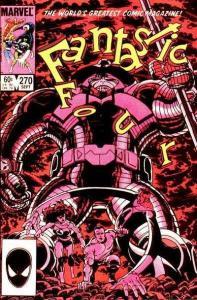 Fantastic Four (1961 series) #270, VF+ (Stock photo)