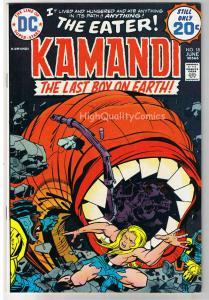 KAMANDI #18, VF/NM, Jack Kirby, Last Boy on Earth, 1972, more in store