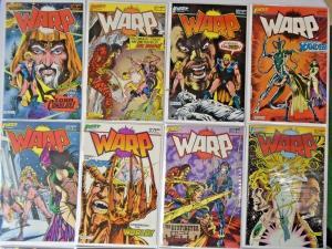 Warp Set:#1-19, 8.0 VF (1983)