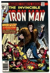 IRON MAN #101-1977-MARVEL BRONZE-AGE COMIC-FRANKENSTEIN