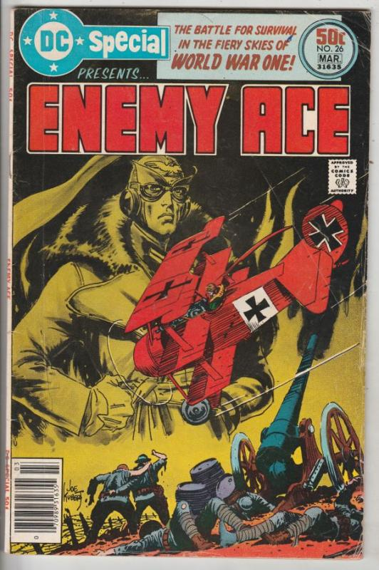 DC Special #26 (Mar-77) VG+ Affordable-Grade Enemy Ace