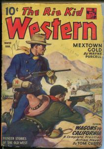 Rio Kid Western-12/1944-Thrilling-Bob Pryor-continuing hero pulp-VG