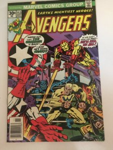 Avengers #153 1976 Marvel The Whizzer Appearance FN/VFN Iron Man