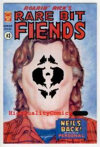 RARE BIT FIENDS #3, VF+, Rick Veitch, Dreams, King Hell Press, 1994