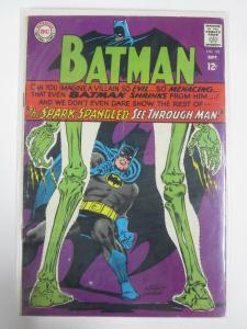 BATMAN 195 VERY GOOD- September 1967 COMICS BOOK