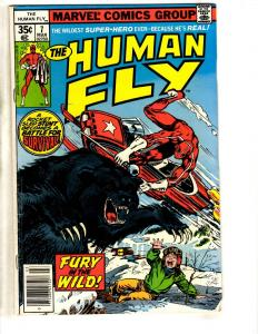 Lot Of 9 The Human Fly Marvel Comic Books # 7 8 10 11 13 15 16 18 19 CR35