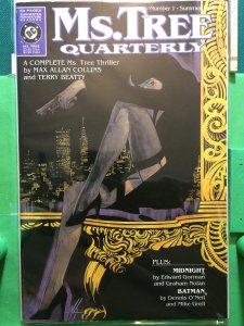 Ms. Tree Quarterly #1 Batman/ Midnight