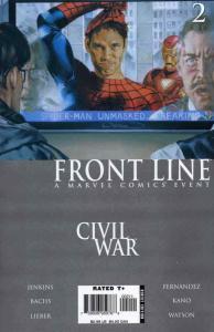 Civil War: Front Line #2 VF/NM; Marvel | save on shipping - details inside