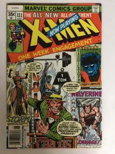 Uncanny X-Men 111 7.5 VF- Very Fine -