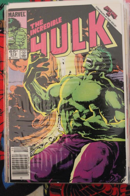 Incredible Hulk 312  NM