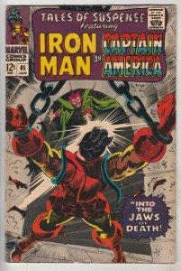 Tales of Suspense #85 (Jan-67) VF High-Grade Iron Man, Captain America
