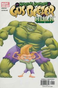 Marvelous Adventures of Gus Beezer: Hulk #1 VF/NM; Marvel | save on shipping - d
