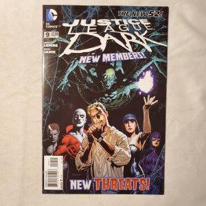 Justice League Dark 9 Very Fine/Near Mint Cover by Ryan Sook