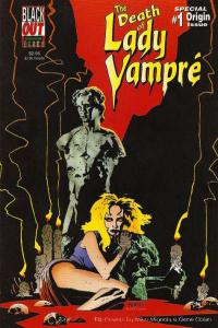 Death of Lady Vampre #1, VF+ (Stock photo)