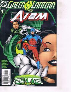 Lot Of 2 Comic Books DC Green Lantern Atom #1 and Firestrom  #1  LH24