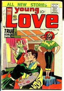 Young Love #72 1956-Prize-all Jack Kirby issue-Kirby cover-G/VG