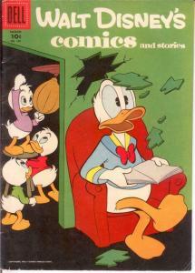 WALT DISNEYS COMICS & STORIES 198 VG-F Mar. 1957 COMICS BOOK