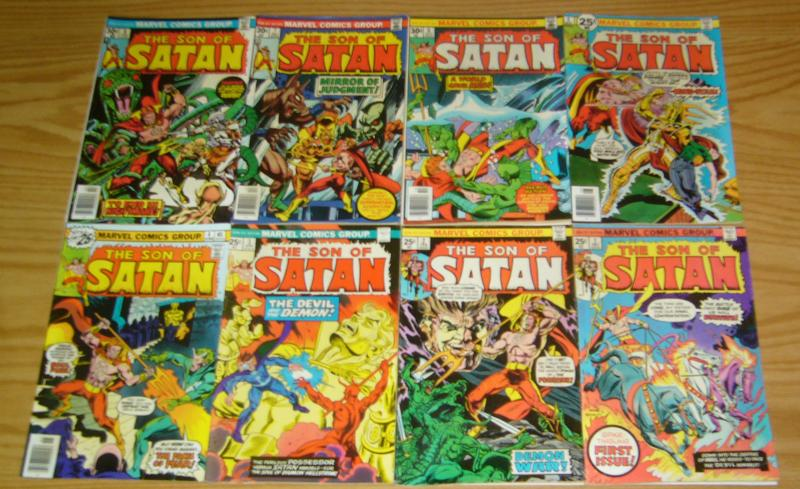 Son of Satan #1-8 FN complete series - daimon hellstorm - peter craig russell