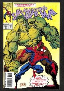 Amazing Spider-Man #382 Incredible Hulk!