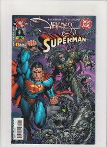 Darkness/Superman #1 VF+ 8.5 DC/Image Comics 2005 Marc Silvestri Top Cow