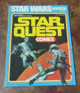Star Quest Comix #1 VG/FN 1978 Magazine Star Wars Revisited Sci-Fi Comic Book