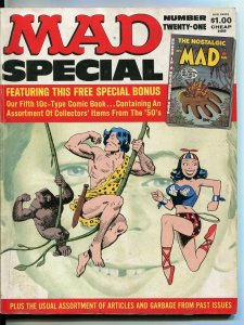 MAD Special #21 Magazine-1976-Mort Drucker-Don Martin-David Berg-FN
