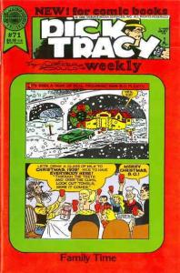 Dick Tracy Weekly #71 VF/NM; Blackthorne | save on shipping - details inside