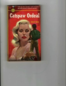 3 Books Catspaw Ordeal The Avenger Justice, INC. The Invaders 2 Enemies JK22