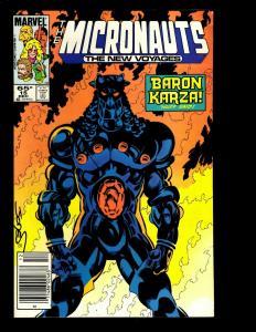 Lot Of 12 Comics The Micronauts # 1 2 6 7 8 14 15 16 17 18 19 20  WS2