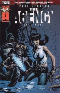 Agency (2001 series) #5, NM + (Stock photo)