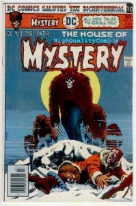 HOUSE of MYSTERY #243, Brother Bear, Horror, Dead, FN