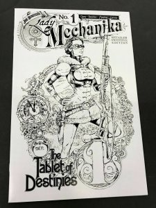 LADY MECHANIKA #1 The Tablet of Destinies RETAIL INCENTIVE VARIANT NM