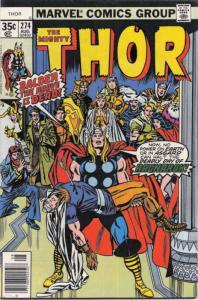 Thor #274 VF; Marvel | save on shipping - details inside