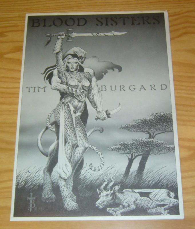 Blood Sisters Portfolio by Tim Burgard - signed - bad girls 1983 (#920 of 1200)