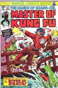 Master of Kung Fu, the Hands of Shang-Chi #23 (Dec-74) FN/VF- Mid-High-Grade ...