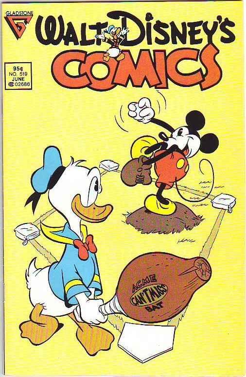 Comics and Stories, Walt Disney's #519 (Jun-87) VF/NM+ High-Grade Donald Duck...