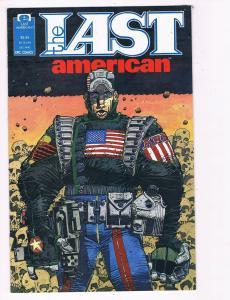The Last American # 1 NM Epic Comic Book Alan Grant John Wagner McMahon B99