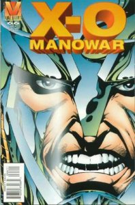 X-O Manowar (1992 series) #66, VF+ (Stock photo)