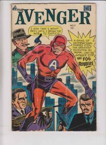the Avenger #9 GD+ silver age super hero comic